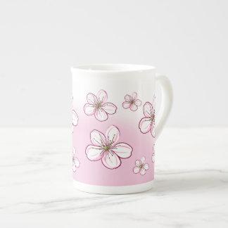 Joli thé ou café de fleurs de cerisier mug