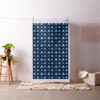 Joli tissu de minuit de voilier d'abrégé sur bleu