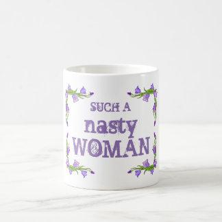 Joli une tasse si méchante de femme