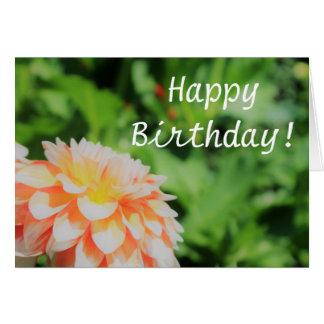 """Jolie carte de """"joyeux anniversaire"""" de dahlia"""