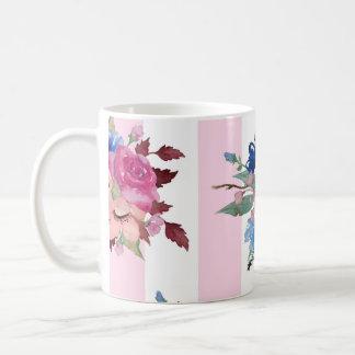 Jolie conception de fleur mug