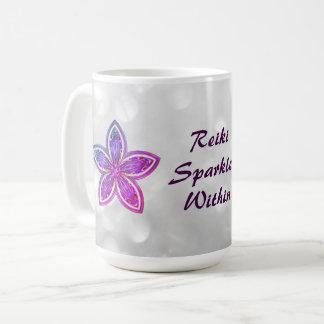 Jolie conception de mandala de fleur de Reiki Mug