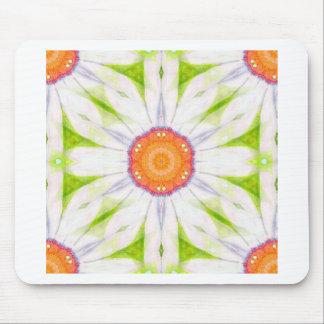 Jolie conception de marguerite tapis de souris