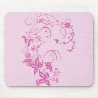 Jolie conception Mousepad de fleur Tapis De Souris