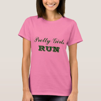 Jolie course de filles t-shirt