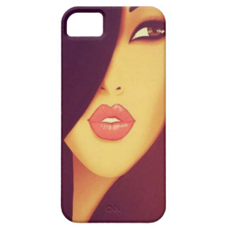 Jolie fille - iPhone 5 de Coque-Compagnon Coques Case-Mate iPhone 5