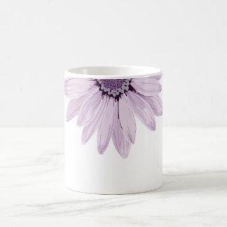 Jolie fleur lilas de couleur et de gris mug