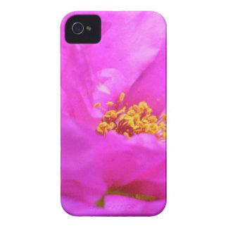 Jolie fleur lumineuse coques iPhone 4