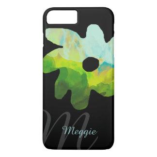jolie fleur personnalisée coque iPhone 7 plus