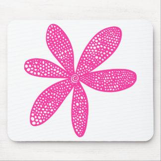Jolie fleur - rose indien tapis de souris