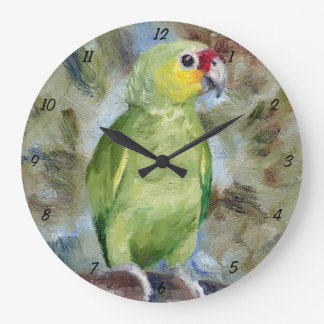 Perroquet horloges perroquet horloges murales for Jolie horloge murale