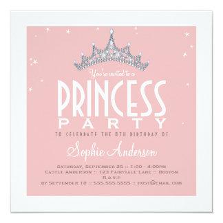 Jolie invitation de fête d'anniversaire de carton d'invitation  13,33 cm