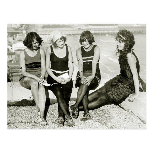 Jolies filles, les années 1920 cartes postales