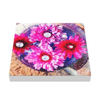 jolies fleurs abstraites toiles
