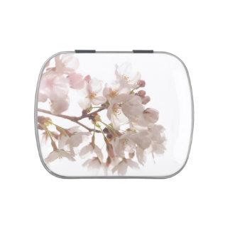 Jolies fleurs de cerisier boite à bonbons