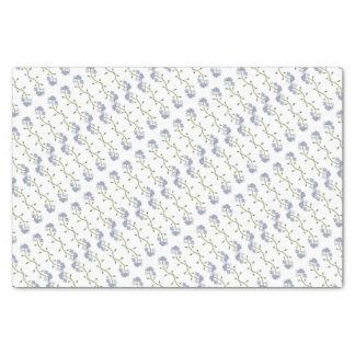 Jolies fleurs de myosotis papier mousseline