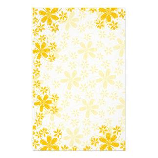 Jolies fleurs Papeterie-Florales Papier À Lettre Customisable