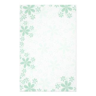 Jolies fleurs Papeterie-Florales Papier À Lettre Personnalisable