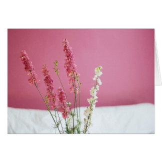 Jolies fleurs - votre message carte de vœux
