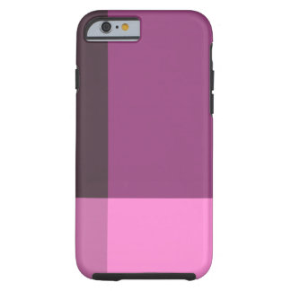 Jolis blocs de rose et de vin coque tough iPhone 6
