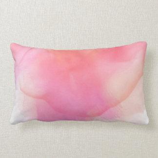 Jolis roses d'aquarelle et coraux - tous les coussin rectangle