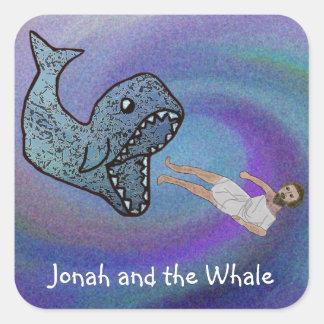 Jonas et les autocollants de baleine