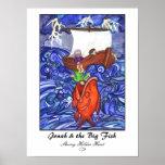 Jonas et les grands poissons Copie-Customisés Poster
