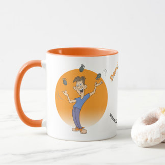 Jonglez les grenades de butées toriques pas ! mug