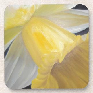 Jonquille jaune dessous-de-verre