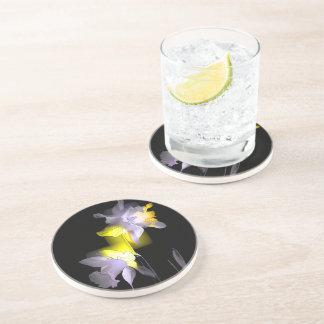 Jonquilles cubistes dessous de verres