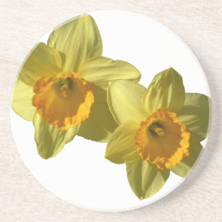 Jonquilles jaunes 2.2.2.f dessous de verre