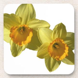 Jonquilles jaunes 2.2.2.f dessous-de-verre