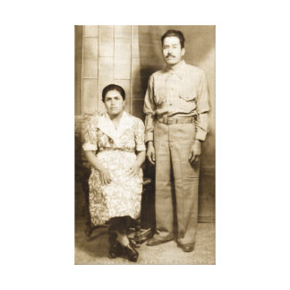 Jose et Maria Guerrero Impressions Sur Toile