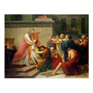 Joseph a reconnu par ses frères carte postale