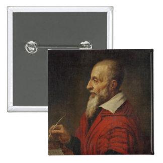 Joseph Justus Scaliger Badge Carré 5 Cm