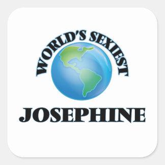Josephine le plus sexy du monde sticker carré
