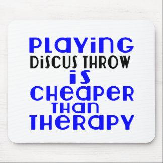 Jouant la lancée de disque meilleur marché que la tapis de souris