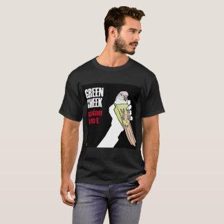 Joue verte : Idiot aviaire (menthe) T-shirt