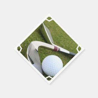 Jouer au golf serviettes jetables