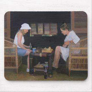 Jouer aux échecs au Goldeneye Tapis De Souris