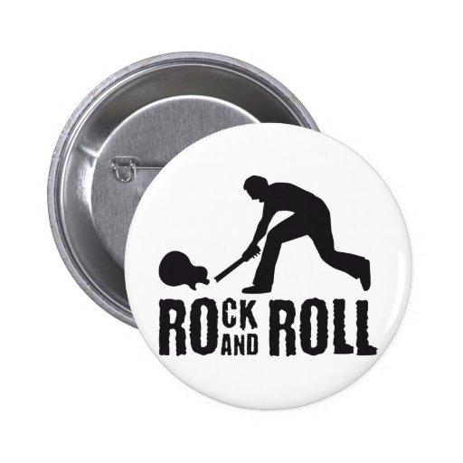 jouer du rock and petit pain pin's