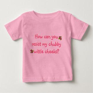 Joues potelées t-shirt pour bébé