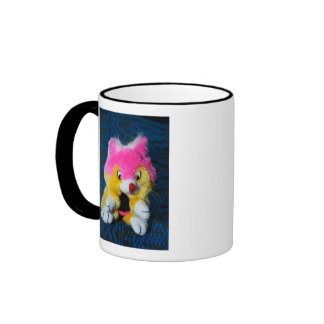 Jouet bourré mug à café