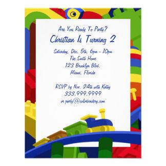Jouets primaires invitation de 5 5 x 4 25 pouces