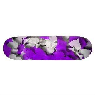 Joueur chanceux abstrait de gagnant skateboard old school  21,6 cm