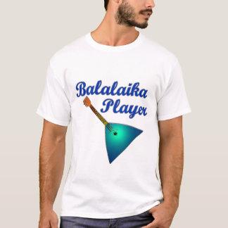 Joueur de balalaïka t-shirt