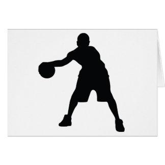 Joueur de basket cartes