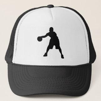 Joueur de basket casquette