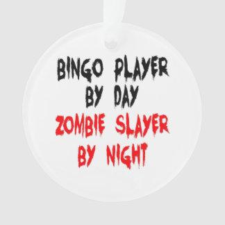 Joueur de bingo-test de tueur de zombi