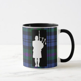 Joueur de cornemuse écossais mug